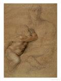 Madonna and Child, circa 1525 Giclée-Druck von  Michelangelo Buonarroti