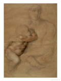 Madonna and Child, circa 1525 Premium Giclee Print by  Michelangelo Buonarroti