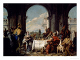 The Banquet of Anthony and Cleopatra, circa 1744 Giclee Print by Giovanni Battista Tiepolo