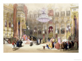 Greek Church of The Holy Sepulchre, Jerusalem, April 11th 1839 Lámina giclée por David Roberts