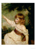 Portrait of Francis George Hare, Oldest Son of Francis Hare Naylor 1788-9 Giclee Print by Joshua Reynolds