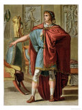 "Nero, Costume for ""Britannicus"" by Jean Racine Giclee Print by Philippe Chery"