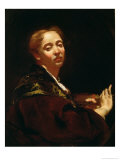 Portrait of Giulia Lama Giclee Print by Giovanni Battista Piazzetta