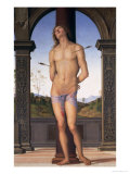 St. Sebastian Giclee Print by Pietro Perugino