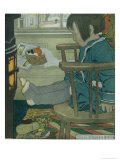Wet Feet, 1902 Giclee Print by Jessie Willcox-Smith