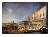 The Reception of the French Ambassador in Venice, circa 1740s Giclee Print by Canaletto