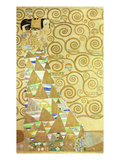 Study for Expectation, C.1905-09 (W/C and Gold on Paper) (See 65841) Reproduction procédé giclée par Gustav Klimt
