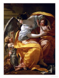 Wealth Giclee Print by Simon Vouet