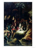 Adoration of the Shepherds Giclee Print by Camillo Procaccini