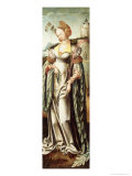 Saint Barbara, Altar Wing from a Triptych Giclee Print by Cornelis Engelbrechtsz