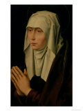 The Virgin Mourning Giclee Print by Hans Memling