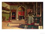 Vision of St. Augustine, 1502-08 Wydruk giclee autor Vittore Carpaccio