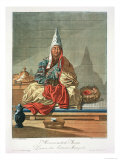 Lama of the Mongolian Tartars Giclee Print by E. Karnejeff