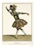 "Costume for a Demon in ""Armide"" ""Psyche"" and Several Other Operas Giclee Print by Jean Baptiste Martin"