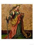 St. Catherine of Alexandria Giclee Print by Konrad Witz