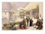 Convent of St. Catherine, Mount Sinai, February 17th 1839 Lámina giclée por David Roberts