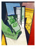 Breakfast, 1915 Giclee Print by Juan Gris
