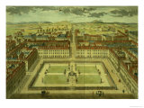 "Soho or King's Square, for ""Stow's Survey of London,"" Published 1754 Giclee Print by Sutton Nicholls"