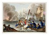 Anecdote at the Battle of Trafalgar Giclee Print by William Heath