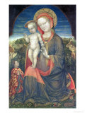 The Madonna of Humility Adored by Leonello D'Este Giclee Print by Jacopo Bellini