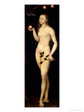 Eve, 1528 Giclee Print by Lucas Cranach the Elder