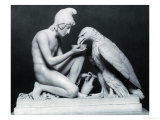 Ganymede with the Eagle of Jupiter, 1817 Giclee Print by Bertel Thorvaldsen