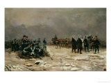 The Battle of Arlabon, 1888 Giclee Print by Jose Cusachs Y Cusachs
