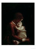 Madonna and Child, circa 1570 Giclee Print by Luca Cambiaso