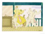 The Tango, circa 1920 Giclee Print by Charles Martin
