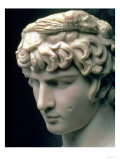 Portrait Head of Antinous Wearing the Wreath of Dionysus Giclee Print