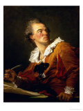 Inspiration Giclee Print by Jean-Honoré Fragonard