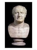 Bust of the Emperor Vespasian, 1st Century Giclee Print