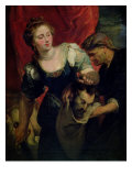 Judith with the Head of Holofernes Premium Giclee Print by Peter Paul Rubens