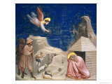 The Dream of Joachim, circa 1305 Giclee Print by  Giotto di Bondone