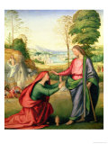 Noli Me Tangere, circa 1508 Giclee Print by Fra Bartolommeo