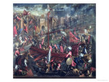 The Taking of Constantinople Premium Giclee Print by  Palma Il Giovane