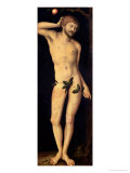 Adam, 1528 Giclee Print by Lucas Cranach the Elder
