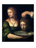 Salome with the Head of St. John the Baptist Giclee Print by Bernardino Luini