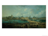Panoramic View of Tours, 1787 Giclee Print by Pierre-Antoine Demachy