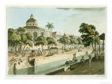 "The Calvinistic Church in Batavia, Plate 9 from ""A Voyage to Cochinchina"" Giclee Print by William Alexander"