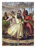 Dancing Dervishes, 1857 Giclee Print by Amadeo Preziosi