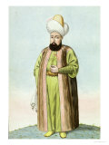 Othman I, Founder of the Ottoman Empire, Sultan 1299-1326 Giclee Print by John Young