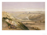 "Jerusalem, April 5th 1839, Plate 18 from Volume I of ""The Holy Land"" Giclee Print by David Roberts"