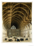 Westminster Hall Giclee Print by T. & Pugin Rowlandson