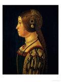 Portrait of Barbara Pallavicino, circa 1520-28 Giclee Print by  Araldi Alessandro