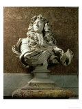 Portrait Bust of Louis XIV, 1665 Giclee Print by Giovanni Lorenzo Bernini