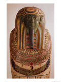 Outer Lid of the Sarcophagus of Psametik I Late Period Giclee Print by 26th Dynasty Egyptian