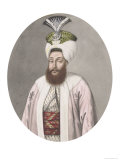 "Selim III Sultan 1789-1807, from ""A Series of Portraits of the Emperors of Turkey,"" 1808 Giclee Print by John Young"