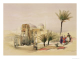 "Church of the Holy Sepulchre, Jerusalem, Plate 11 from Volume I of ""The Holy Land"" Giclee Print by David Roberts"