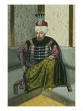 "Mahomet IV Sultan 1648-87, from ""A Series of Portraits of the Emperors of Turkey,"" 1808 Giclee Print by John Young"